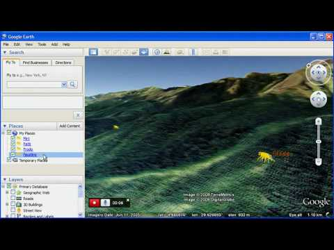 Create narrated tours in Google Earth