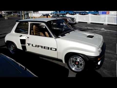 RENAULT 5 TURBO original mid-engine rear wheel drive Cinq