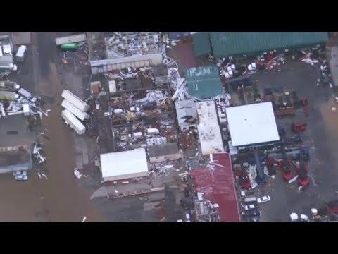 St. Martin and British Virgin Islands devastation from Hurricane Irma