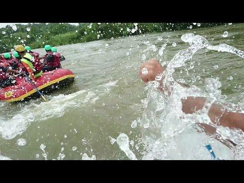 Kolad River Rafting in Kundalika River in 2016