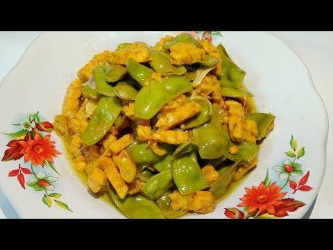 Resep Tumis Tempe dan Kacang Koro Pedas