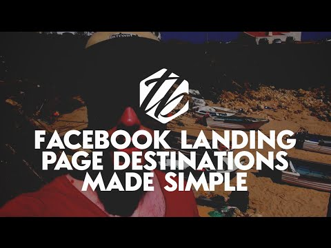 Facebook Landing Page Tutorial — Where To Send People From Your Facebook Ads | #132