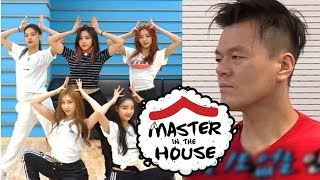 Download JYP's Checking ITZY's Dalla Dalla Choreography [Master in the House Ep 61] Video