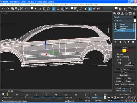 [13/17] - Modelling Audi A3 - Doors and Windows - [3dsmax]