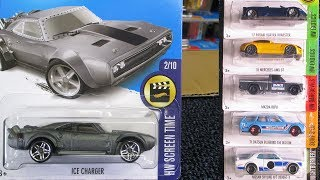 2017 M WW Hot Wheels Factory Sealed Case with Nissan Datsun Mazda and Fate of the Furious