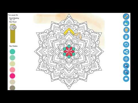 Best Coloring App for Windows 10 - Zen Coloring Book for Adults