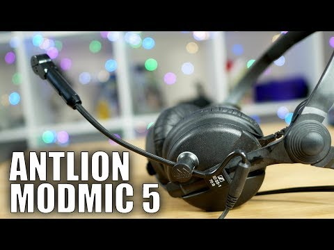 Antlion ModMic 5 Review: Turn any headphones into a great gaming headset!