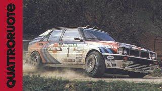 Lancia Delta Integrale: al volante c