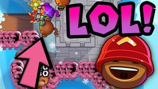 NOBODY Can Defend CAMO BLOONS! l Bloons TD Battles