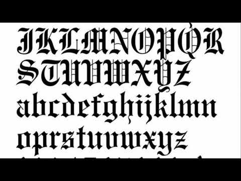 Tattoo Fonts Styles Lettering