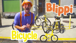 Learning About Bicycles and Exploring With Blippi | Educational Videos For Kids | Blippi Videos