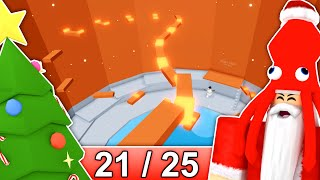 [21/25] CHRISTMAS STAGES in Tower of Hell... | Roblox