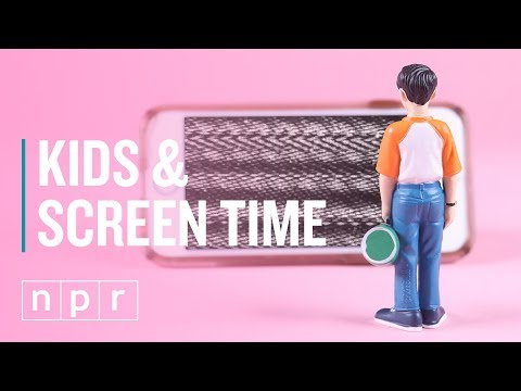 For Kids, How Much Screen Time is Too Much? | Let's Talk | NPR