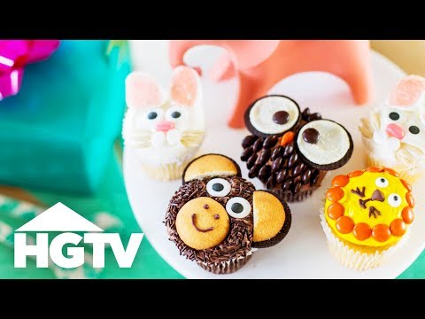 DIY Emoji Animal Cupcakes - HGTV