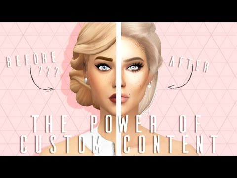 The Sims 4: The Power Of Custom Content // + CC LINKS & DOWNLOAD SIM