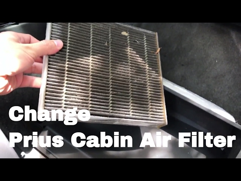 🚗 🚕   How To Change or Replace 2010 Prius Cabin Air Filter 2010, 2011, 2012, 2013, 2014, 2015