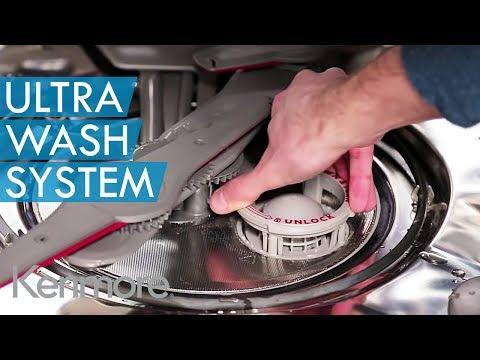 Ultra Wash Filtration System - Kenmore Elite ULTRA WASH® Dishwasher