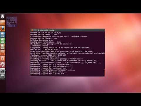 Episode 58 - Ubuntu: Hardware Sensors Applet