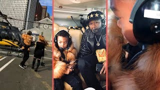 50 Cent Takes His Son Sire Through New York On Helicopter 50 Spending That Starz and BET TV Money