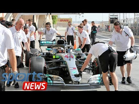 Lewis Hamilton: Why will the Mercedes driver start Bahrain in ninth? What did he do?