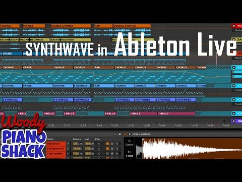 Ableton Live synthwave tutorial