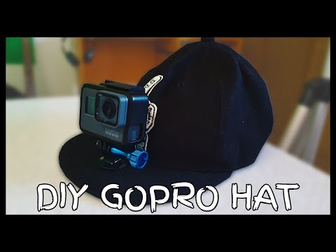 How To Make Your Own GoPro Hat (DIY)