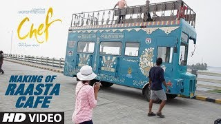 Making of Raaste Cafe | Chef | Saif Ali Khan | Raja Krishna Menon