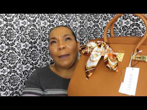 Ainifeel handbag 35cm vs 40cm