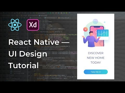 Splash Screen UI Design React Native Tutorial