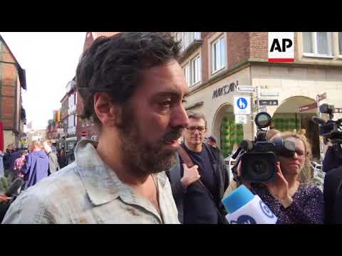 Muenster in mourning for victims of fatal van attack