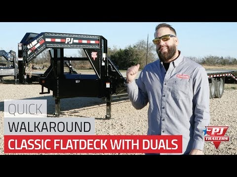 Classic Flatdeck with Duals (FD) Trailer Quick Walkaround