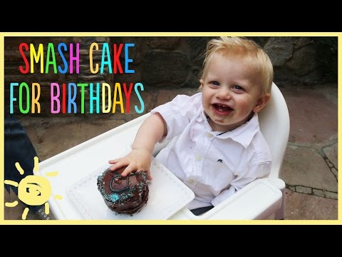 EAT | Smash Cake for 1st Birthday