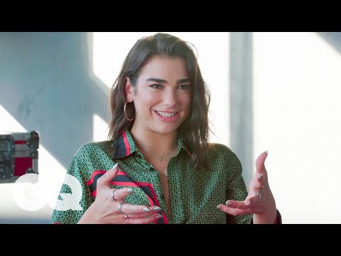 Dua Lipa On Her Collaboration With Coldplay's Chris Martin   The Process   GQ
