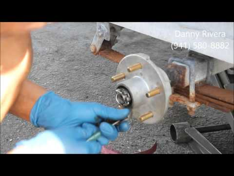How To Replace Wheel Hub on Boat Trailer