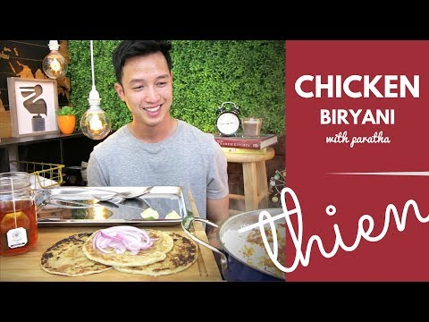 [mukbang/cookbang with THIEN]: Indian Chicken Biryani (Hyderabadi-style), Paratha, and Raita
