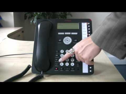 Forwarding calls - Avaya IP Office 1616 series telephone