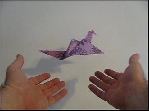 Make an Origami Flapping Bird