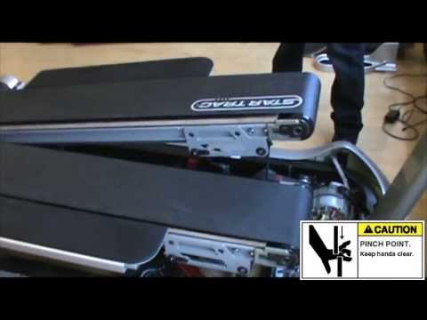 Star Trac: TreadClimber® Walking Belt and Deck Replacement