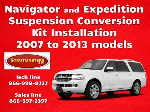 How To Fix The Rear And Front Suspension On A Lincoln Navigator Or Ford Expedition (2007-2008)