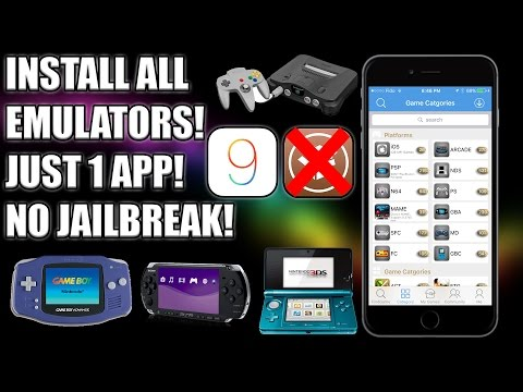 How to Install ALL Emulators on iOS 9! - GBA, NDS, PSP, PS1, N64! (NO JAILBREAK!)
