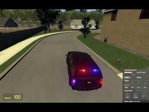 Undercover cop car.