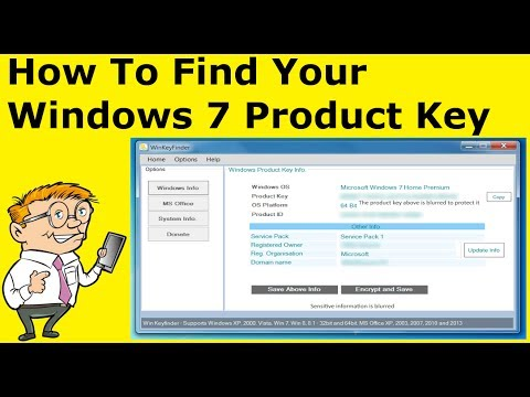How To Find Your Windows 7 Product Key / Serial (Guide)