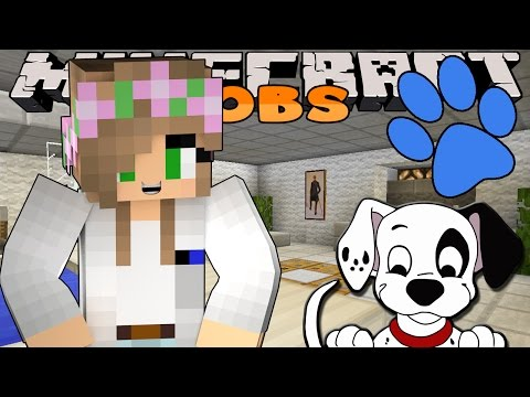 Minecraft Jobs-Little Kelly Adventures- WORKING AS A VET!