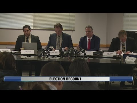 Elections Commission creates timeline for recount