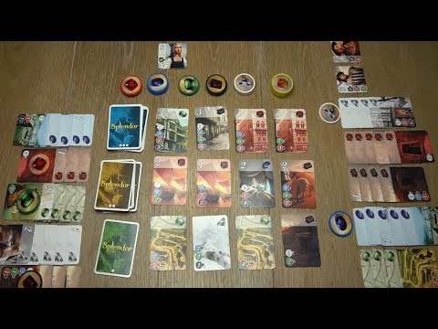 How to Play Splendor! With Actual Gameplay