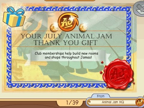 How to get free items from animal jam 2015 (100% working)STEPS IN DESC AS WELL