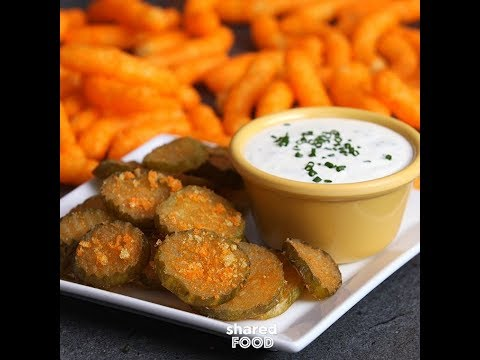 Cheeto Fried Pickles