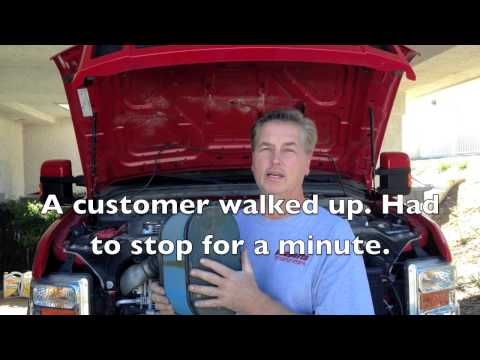 Ford 6.4 powerstroke diesel poor fuel economy, Regen explained and cause of fuel in oil.