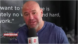 Dana White previews Conor McGregor vs. Dustin Poirier, reacts to Max Holloway win | SportsNation