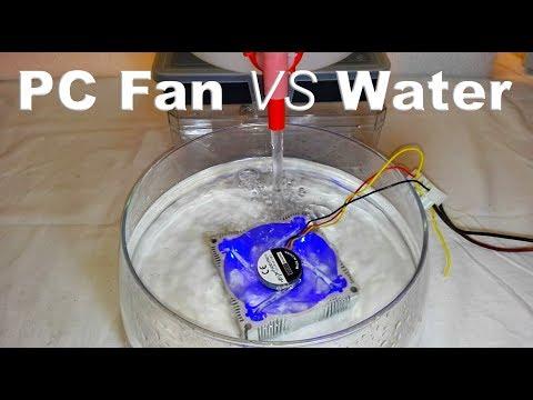 Water VS PC Fan - By STE